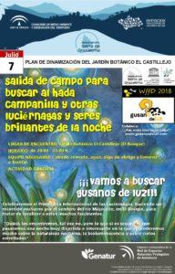 Cartel Día Mundial Luciérnagas 07 07 2018 El Bosque Cádiz